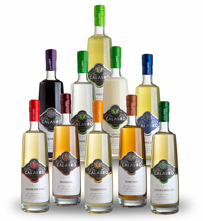 Foto di lun liquore Calabro con un cocktail