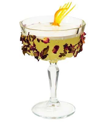 foto di un cocktail con clementine calabro