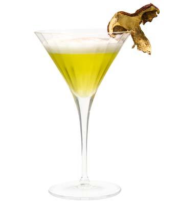foto di un cocktail con il porcino calabro