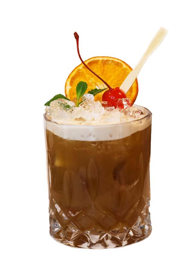 un cocktail preparato con Liquore di liquirizia calabro liquori
